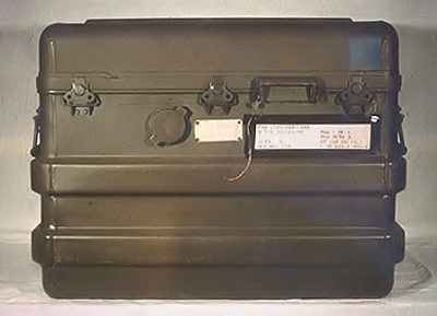 163 pounds WITH PAYLOAD! Actual Soviet suitcase nuke case.
