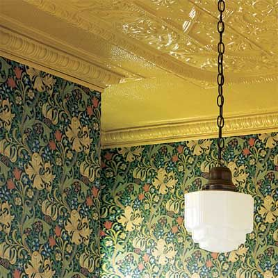 do it yourself finishes for tin ceilings - Tin Ceilings