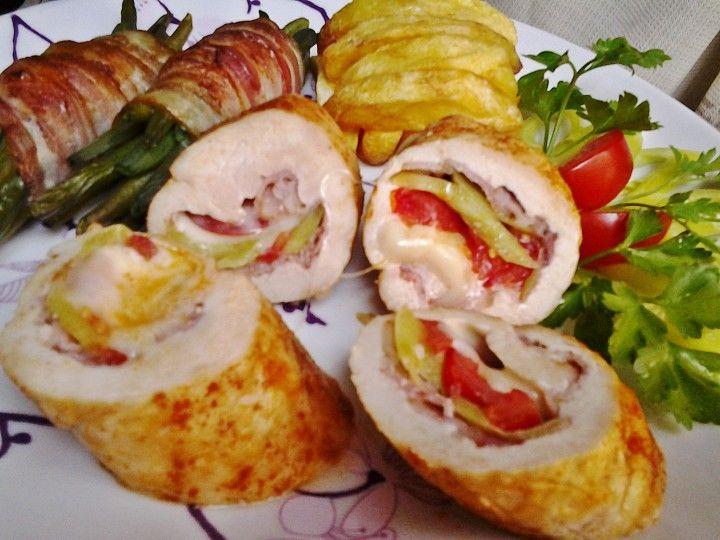 Ördögien jó göngyölt csirkemell recept | Receptneked.hu ( Korábban olcso-receptek.hu)