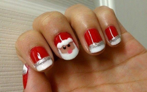 Beautiful Christmas Nail Art