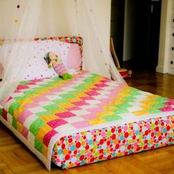 A kid's floor bed, designed based on Montessori principals. Complete process and tutorial included.