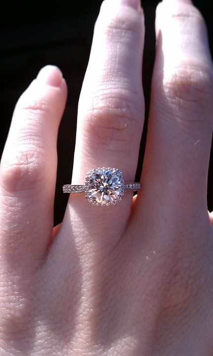 This is it.  The one and only Tacori engagement ring. Dantela collection.