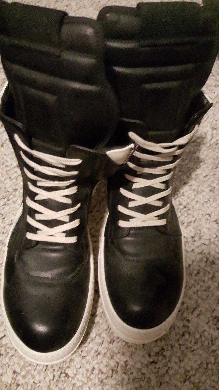 dbb03464c ... uk rick owens geobasket sneakers black milk 42.5 ro 9.5 ramone sock yeezy  boost 61052 67794