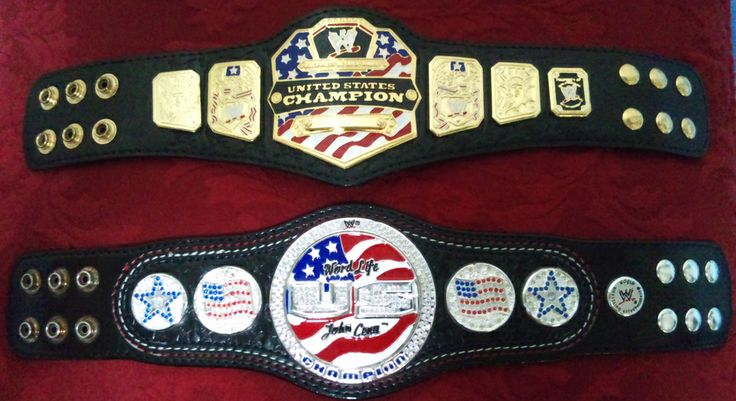 WWE UNITED STATES CHAMPIONSHIP SPINNER & NON-SPINNER
