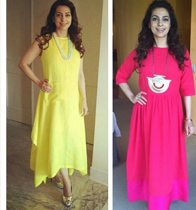 Payal Khandwala # Juhi Chawla # summer tunics # Indian fashion