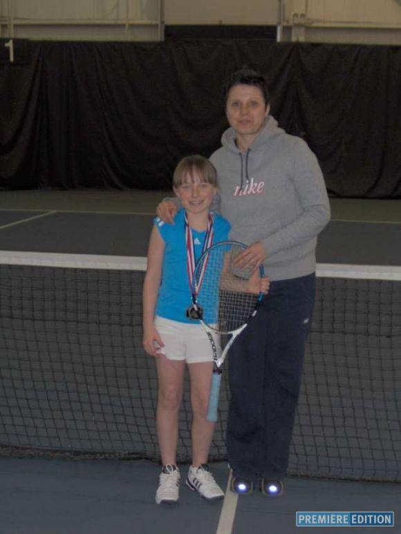 Hétu parmi les meilleures - Tennis, badminton - Première Édition