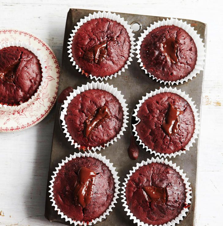 Stephanie Alexander's beetroot and chocolate muffins.