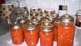 Tomates en conserve #recettesduqc #tomate #conserve