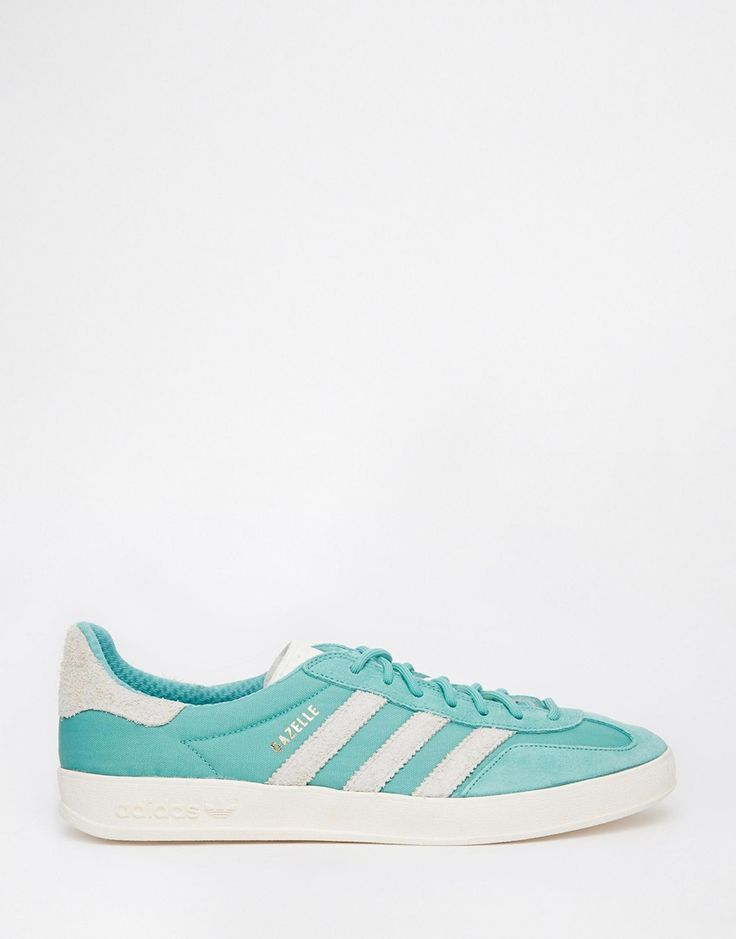 adidas Original Gazelle Indoor Green Trainers