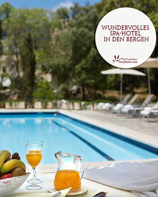 L'Hermitage - Mallorca: Wonderful SPA-hotel in the mountains. Wundervolles SPA-Hotel in den Bergen.
