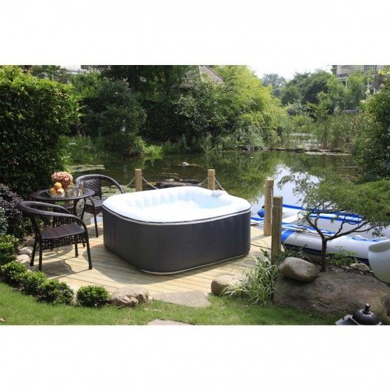 les 25 meilleures id es de la cat gorie jacuzzi gonflable sur pinterest piscine gonflable. Black Bedroom Furniture Sets. Home Design Ideas