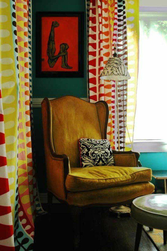 1001 id es de d cors avec couleur moutarde des conseils meubles pinterest fauteuil. Black Bedroom Furniture Sets. Home Design Ideas