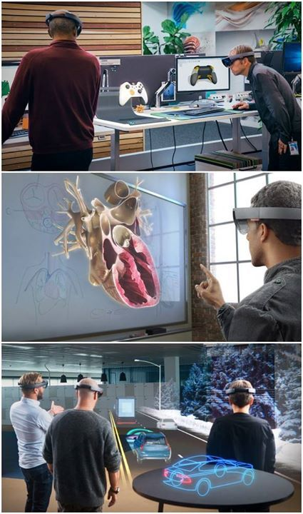 Share your ideas now for the Microsoft HoloLens project.  Read this post for more information > http://ow.ly/Vw5yL  #MicrosoftHoloLensproject  Microsoft holograms are powered by Windows 10.  Download Windows 10 through www.softwaremart.ca > http://ow.ly/Vw5Ew