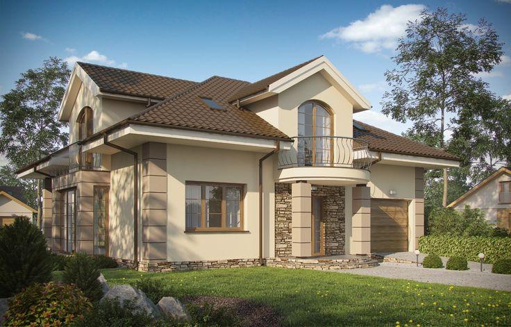 Projekt domu ARX D119 - DOM RX4-02 - gotowy projekt domu