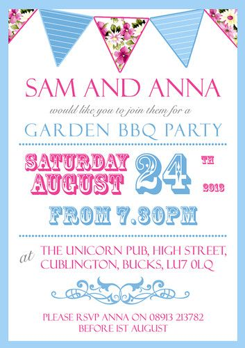 17 best ideas about garden party invitations on pinterest, Party invitations