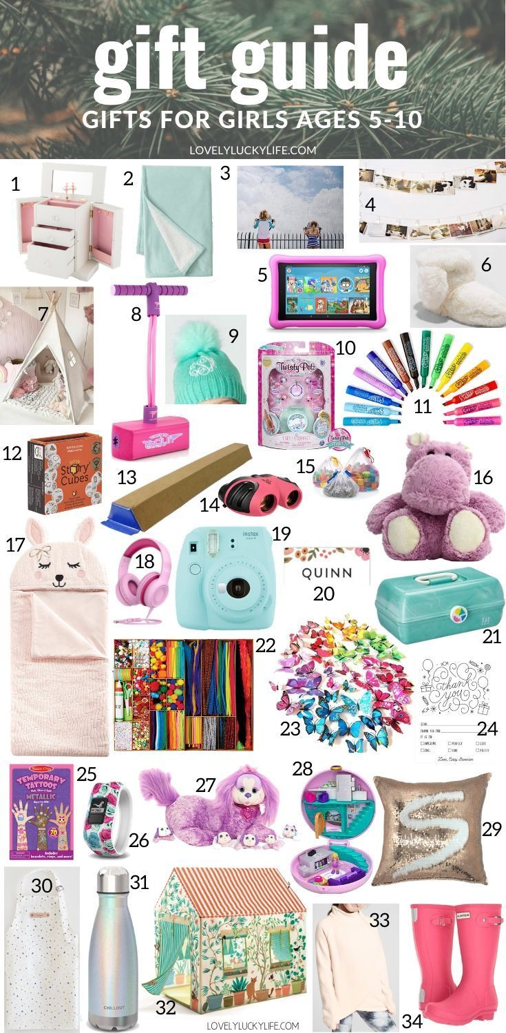 75 Christmas Gift Ideas Stocking Stuffers For Girls Christmas Presents For Girls Girls Gift Guide Little Girl Gifts
