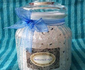 Sól do kąpieli handmade
