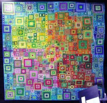 This is beautiful!  It's a quilt, and I don't sew, so obviously I'm not going to make this, but the design is so beautiful, isn't it??