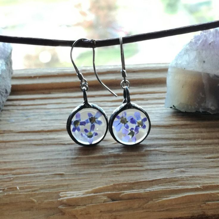 Forget me not earrings 🌼💧💙