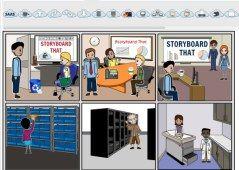 creator-corp, Storyboard app