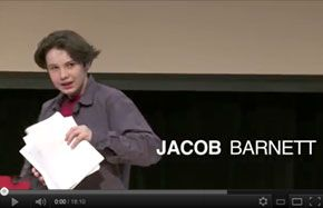 """Stop learning start thinking!""    Jacob Barnett is an American mathematician and child prodigy. At 8 years old, Jacob began sneaking into the back of college lectures at IUPUI. After being diagnosed with autism since the age of two and placed in his school's special ed. program, Jacob's teachers and doctors were astonished to learn he was able to teach calculus to college students..."