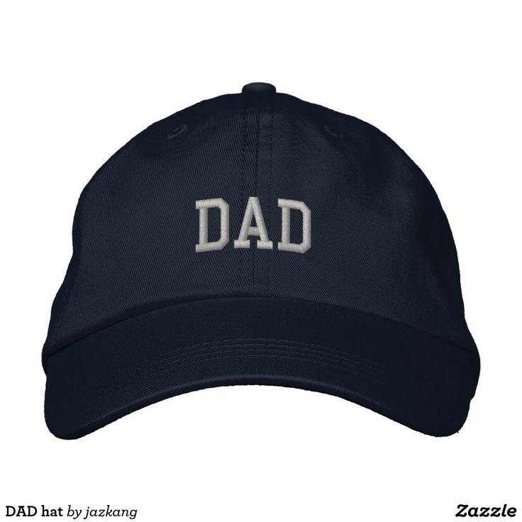 DAD hat. Regalos Padres, fathers gifts, #DiaDelPadre #FathersDay