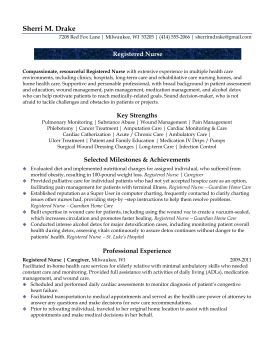 Registered Nurse Sample Resume for someone who has a gap as a caregiver. How to use the gap as an accomplishment. See more about resumes @Julie Walraven