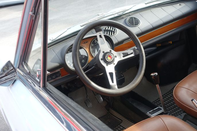 Abarth-Fiat 1000 Coupé Interior #fiat #Abarth #cars #biler #carspotting