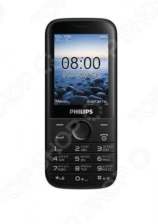 Philips E160  — 2266 руб. —  Мобильный телефон Philips E160 незаменимое устройство в жизни современного человека. Удобная классическая модель Philips E160 позволит вам оставаться со своими родными и близкими на связи, где бы вы не находились. Высокое качество связи, возможность попеременного использования сразу двух sim-карт обеспечивают максимальный комфорт и быстрый доступ ко все вашим контактам. Теперь вам больше не придется все время носить с собой два телефона: личный и рабочий…