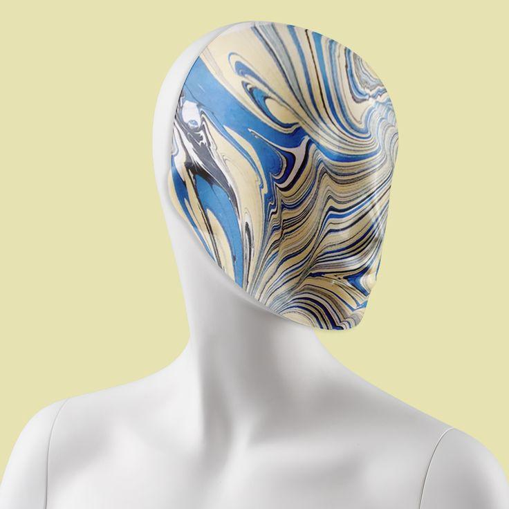 Marble patterned mask #FemaleMannequins #mask #marble #print