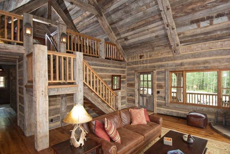 barn wood interior (2)Wall Colors, Wood Interiors, Oak Floors, Living Room, Cabin Home, Cabin Interiors, Cabin Fever, Logs Cabin, Barns Wood