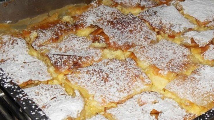 Ingrediente: 1 pachet foi de plăcintă din comert 1 kilogram iaurt 8 ouă 300 g zahăr coaja rasa de la 1/2 lamaie 1 esență de vanilie Mod de preparae: 1.