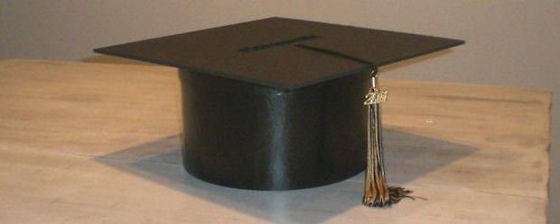 Diy Graduation Cap Card Box For Ciara S Grad Party Misc Stuff