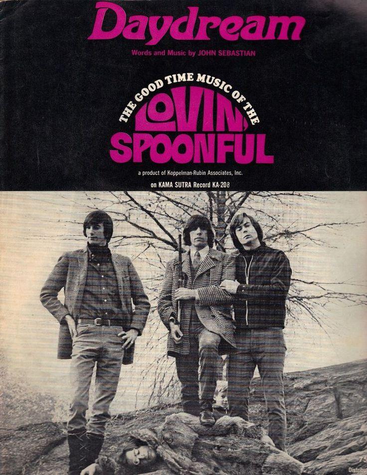 """Daydream"" John Sebastian Lovin' Spoonful Piano Vocal Guitar 1960s Sheet Music"
