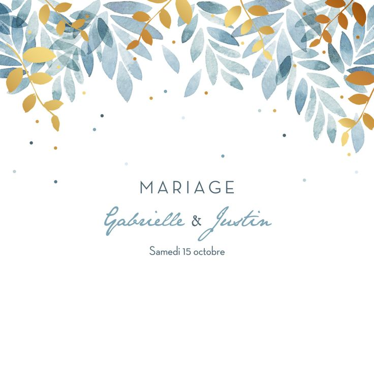 Invitation de mariage Nuit d'été 4 pages (dorure) de l'Atelier Rosemood #maria … – الرسم بالباستيل