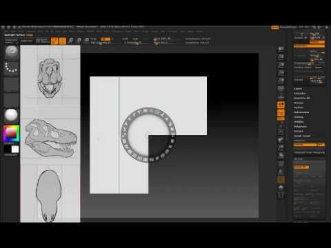 ZBrush 4 | Use Reference Images in ShadowBox. More ZBrush 4 features. http://www.pixologic.com/zbrush/features/zbrush4/overview/