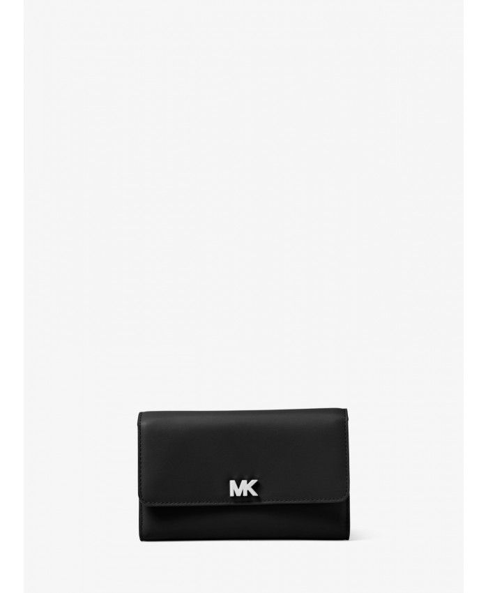 21d2e60628f07 Michael Kors Black Medium Leather Clutch 32S8SF6E2L-0001