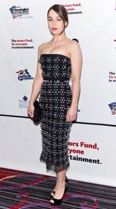 Emilia Clarke, 29 ans : le look de Khaleesi sur le tapis rouge