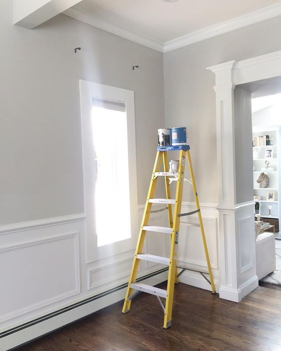Wall Color is Repose Gray from Sherwin Williams.                                                                                                                                                                                 More