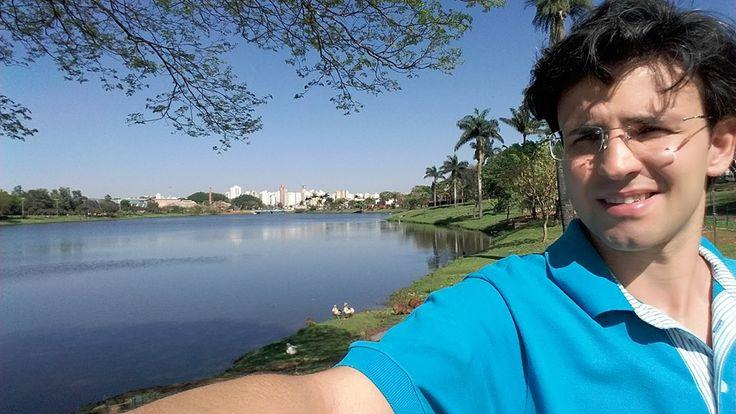 """19/09/2015 - Thiago Zaldini Hernandes: """"Obrigado, meu Deus, por esse verde e azul. #semfiltro"""""""