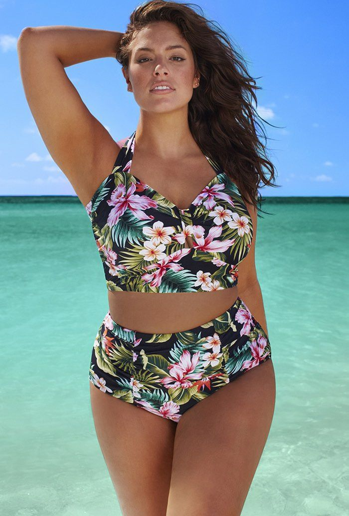 "Women's Plus Size ""Hotter Than Summer"" Sexy Padded Bra Swimsuits (L-6XL) - 12 Styles"