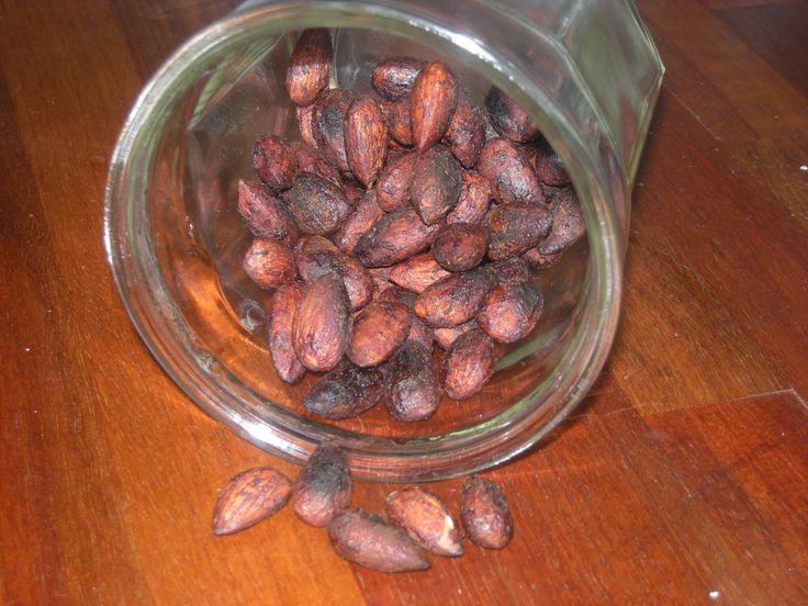 Og en nem og sund snack - opskrift på soya mandler.