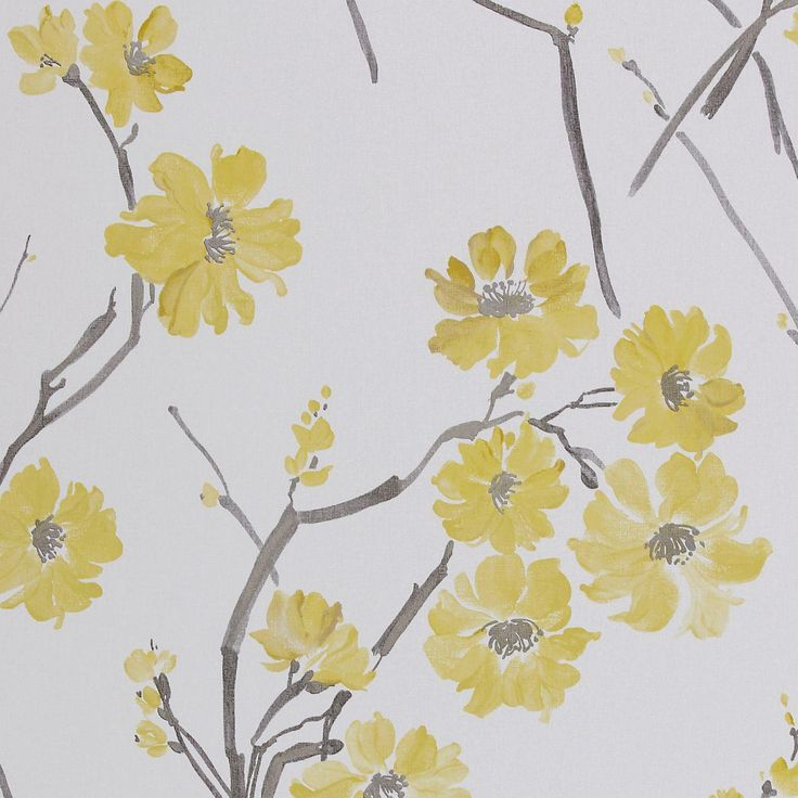 Floris Wallpaper - Mustard/Slate/Neutral (30218) - Harlequin Boutique Wallpapers Collection