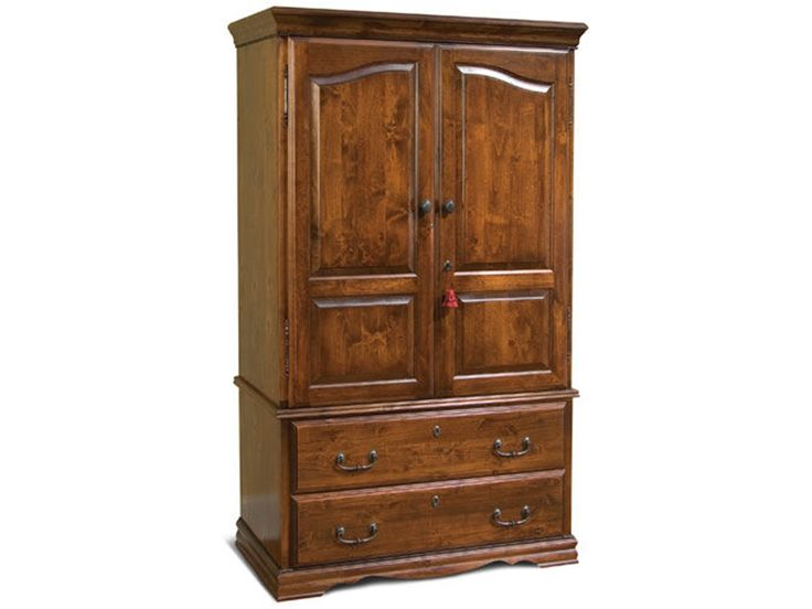 Portrayal of Best TV Hutch with Doors