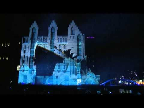Catch the Intel 3D Ultrabook 2012 Projection Mapping Tour in Germany