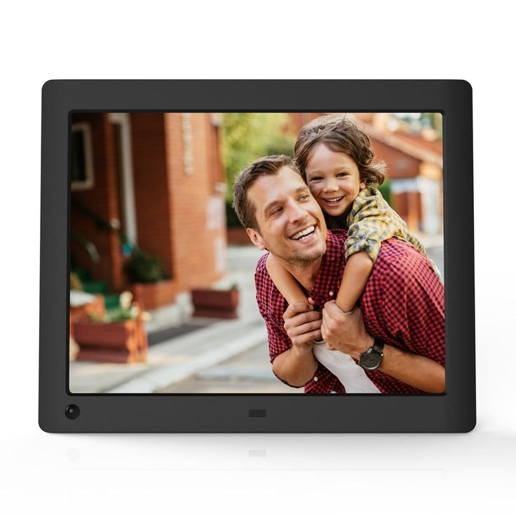 "Best Mother's Day Gift for Smothers: NIX Advance 8"" Hi-Res Digital Photo Frame with Motion Sensor"
