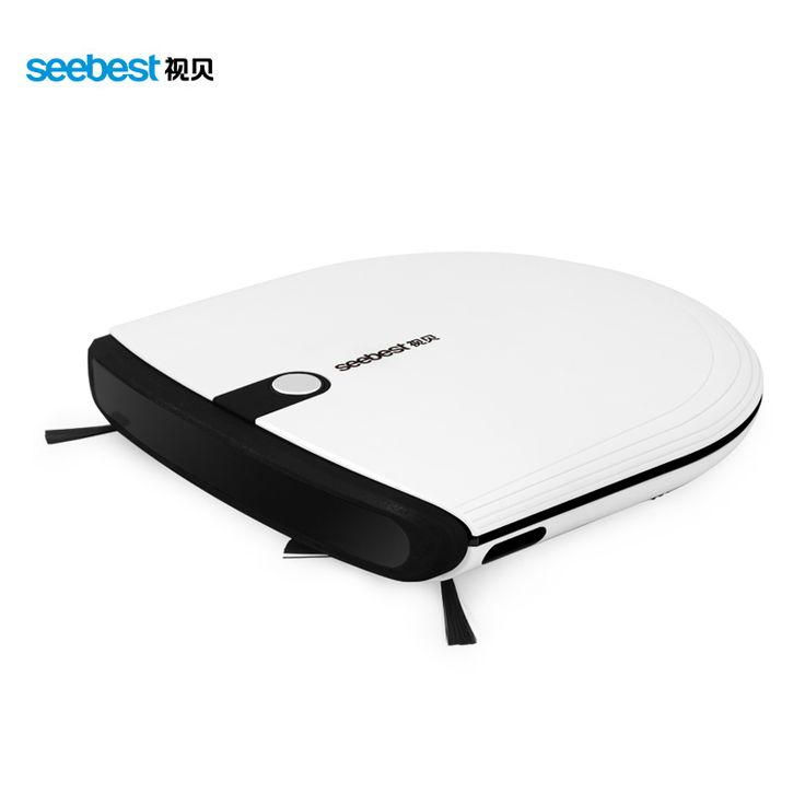 Super Slim Mini Robotic Vacuum Cleaner 6.3cm Height with 2 Side Brush Aspirador Robot, Seebest E620 MOMO 3.0