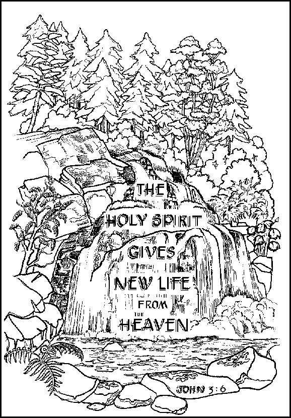 Great Collection Of Coloring Pages For Bible Verses