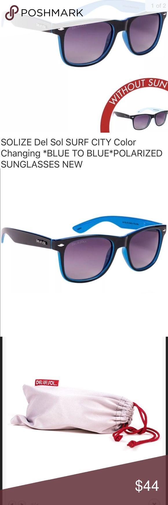 Solize Del sol Color Change In sun Sunglasses Color ...