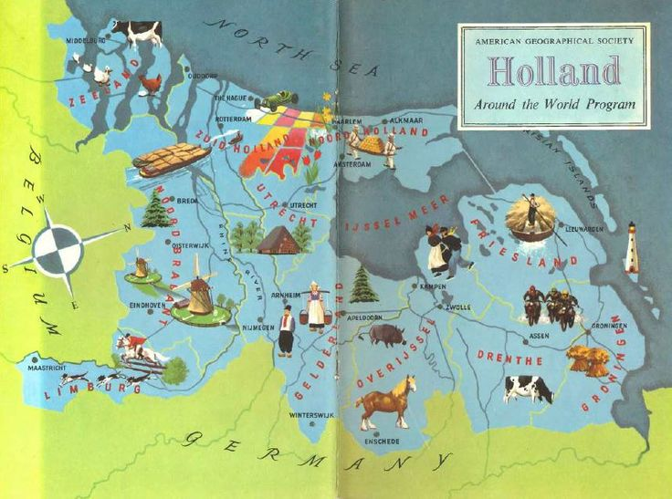 Best 25 holland map ideas on pinterest netherlands map holland map of netherlands old map illustration holland map wall art travel decor gumiabroncs